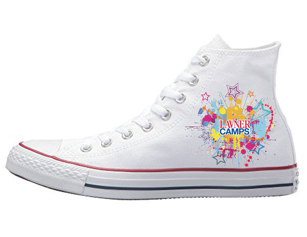 Converse Paint Splatter (Little Kid)