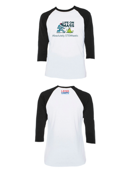Life On Mars Raglan 3/4 (Adult)