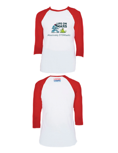Life On Mars Raglan 3/4 (Youth)