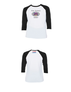 Old School Gamer Raglan 3/4 (Youth)