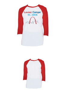 St. Louis Raglan 3/4 (Adult)