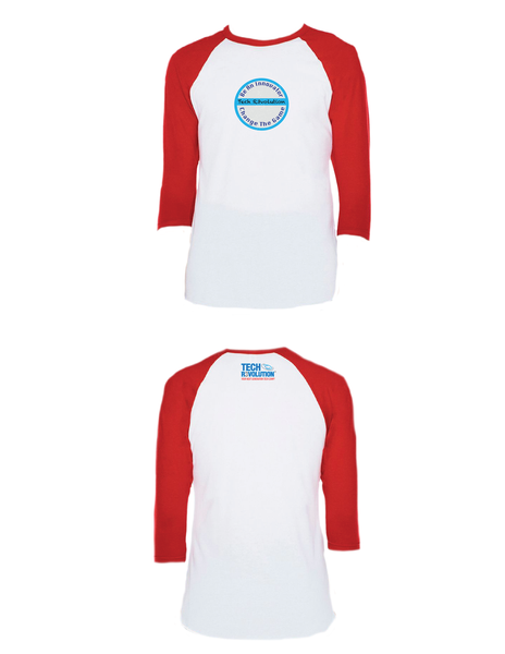 Tech Revolution Raglan 3/4 (Youth)