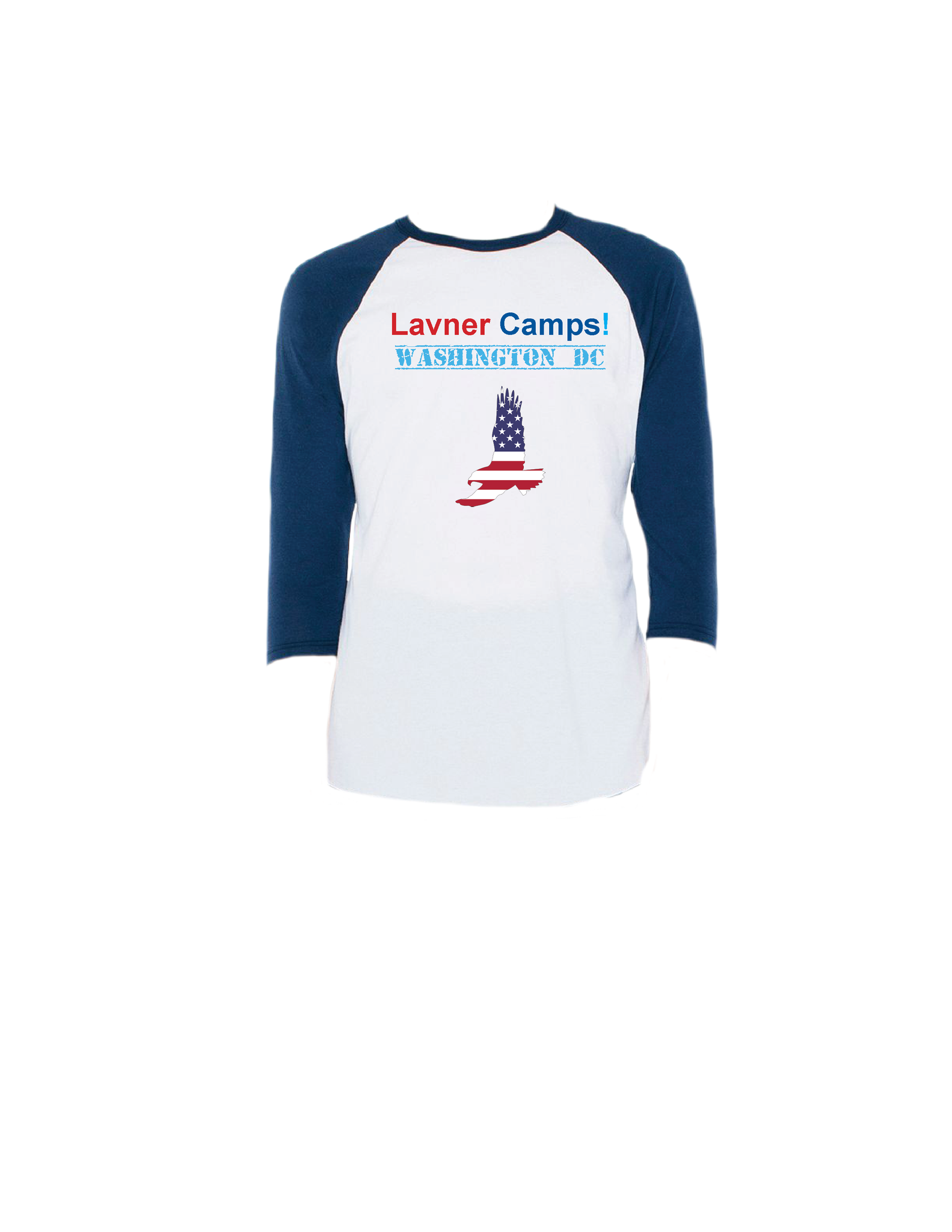 DC Eagle Raglan 3/4 (Adult)