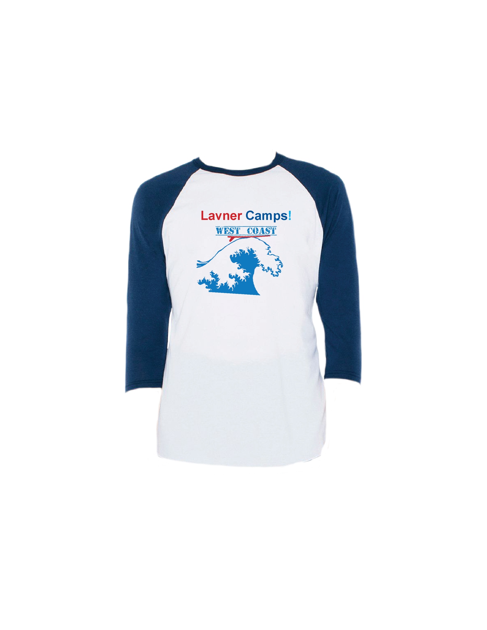 West Coast Raglan 3/4 (Adult)