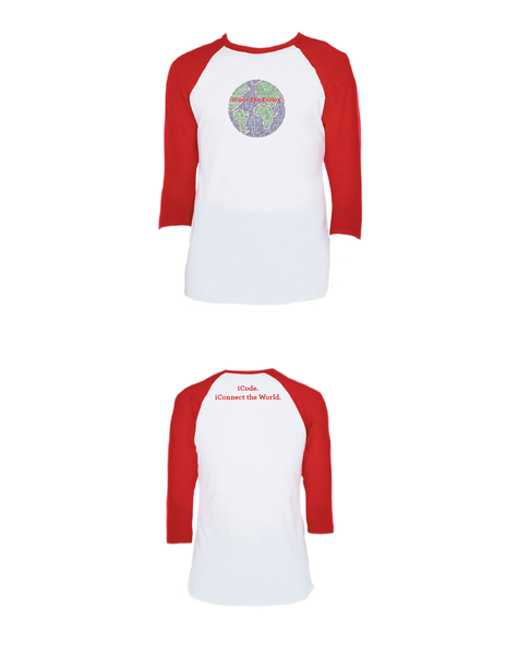 iCode the Future Raglan 3/4 (Adult)