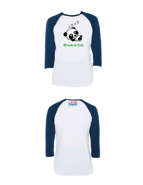 iDream in Code Raglan 3/4 (Youth)