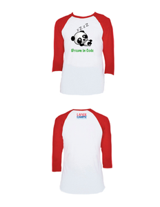 iDream in Code Raglan 3/4 (Adult)