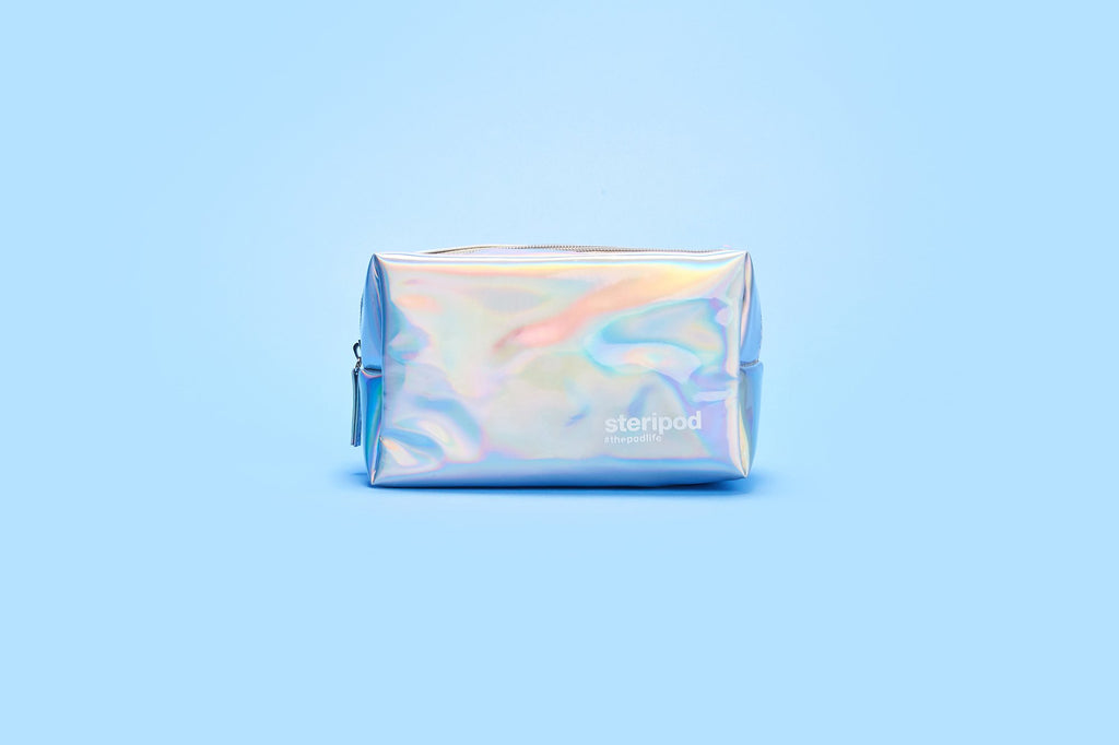 Holographic Toiletries Bag