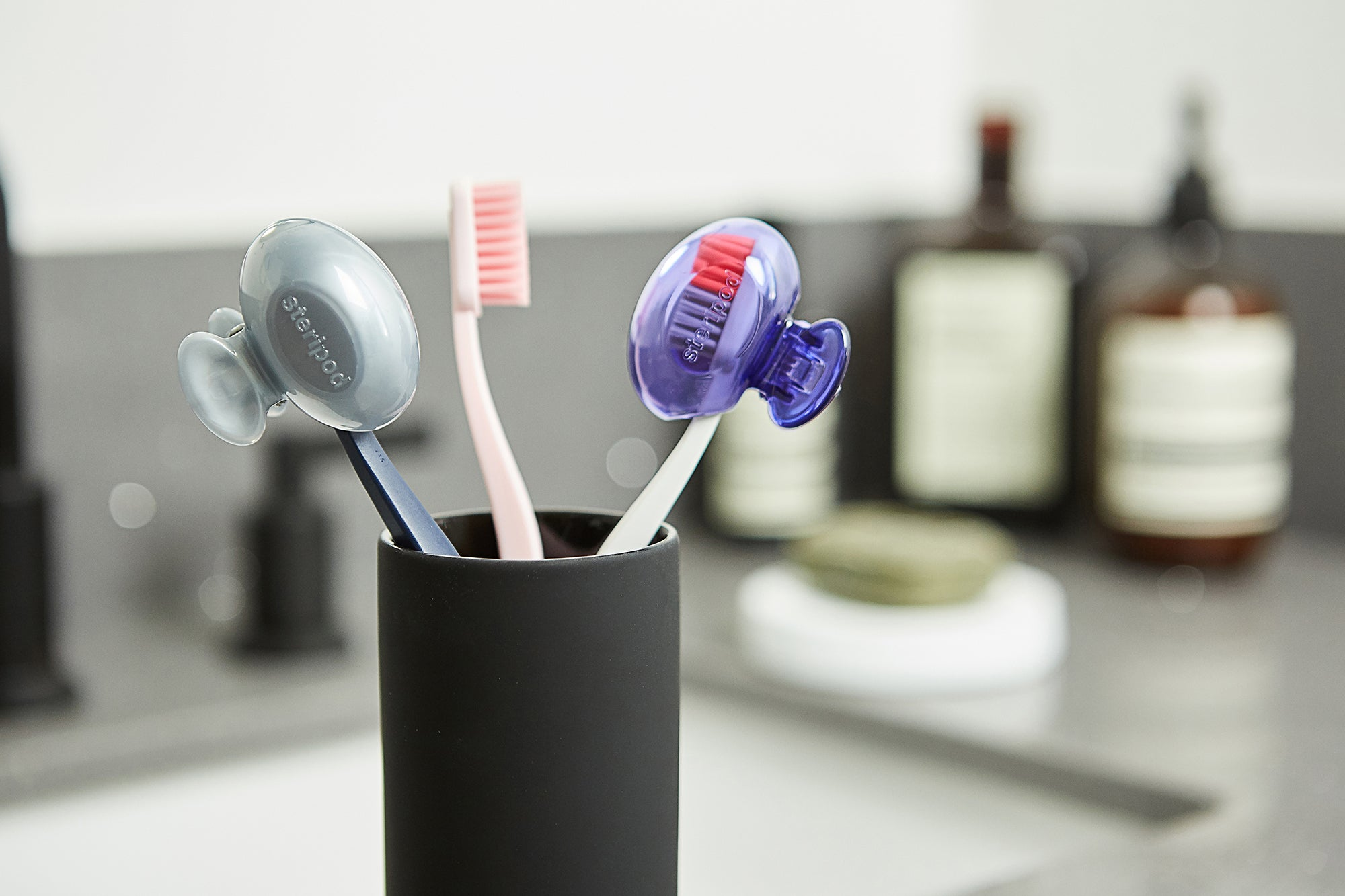 Exclusive Double Toothbrush Protectors  (Set of 2 Pods)