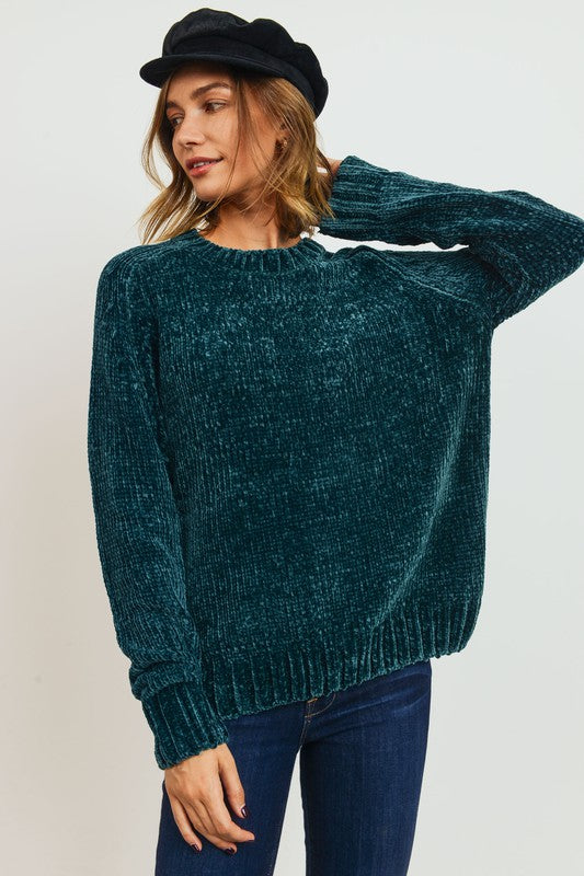 Chenille Everyday Sweater