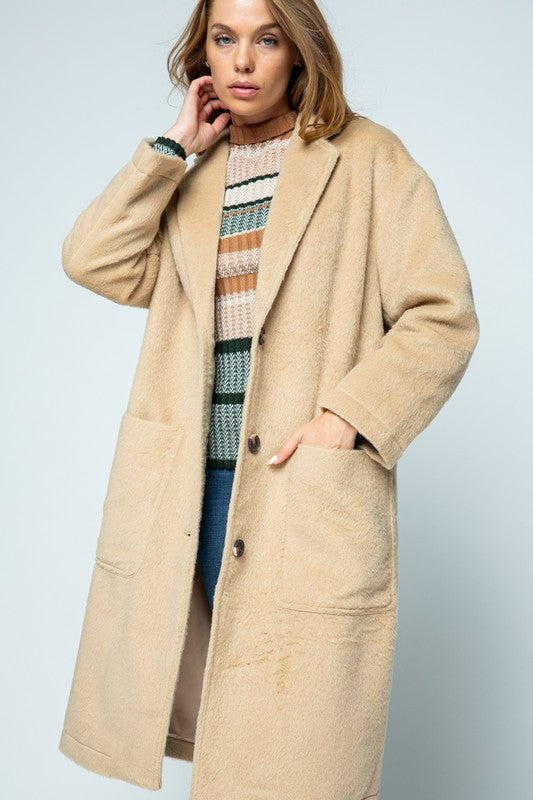 Teddy Boyfriend Cozy Coat