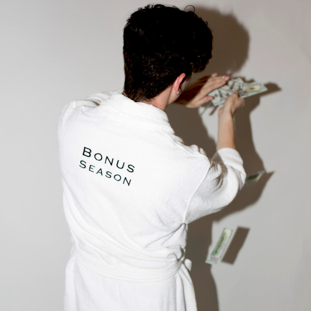 Bonus Season Bathrobe UNISEX