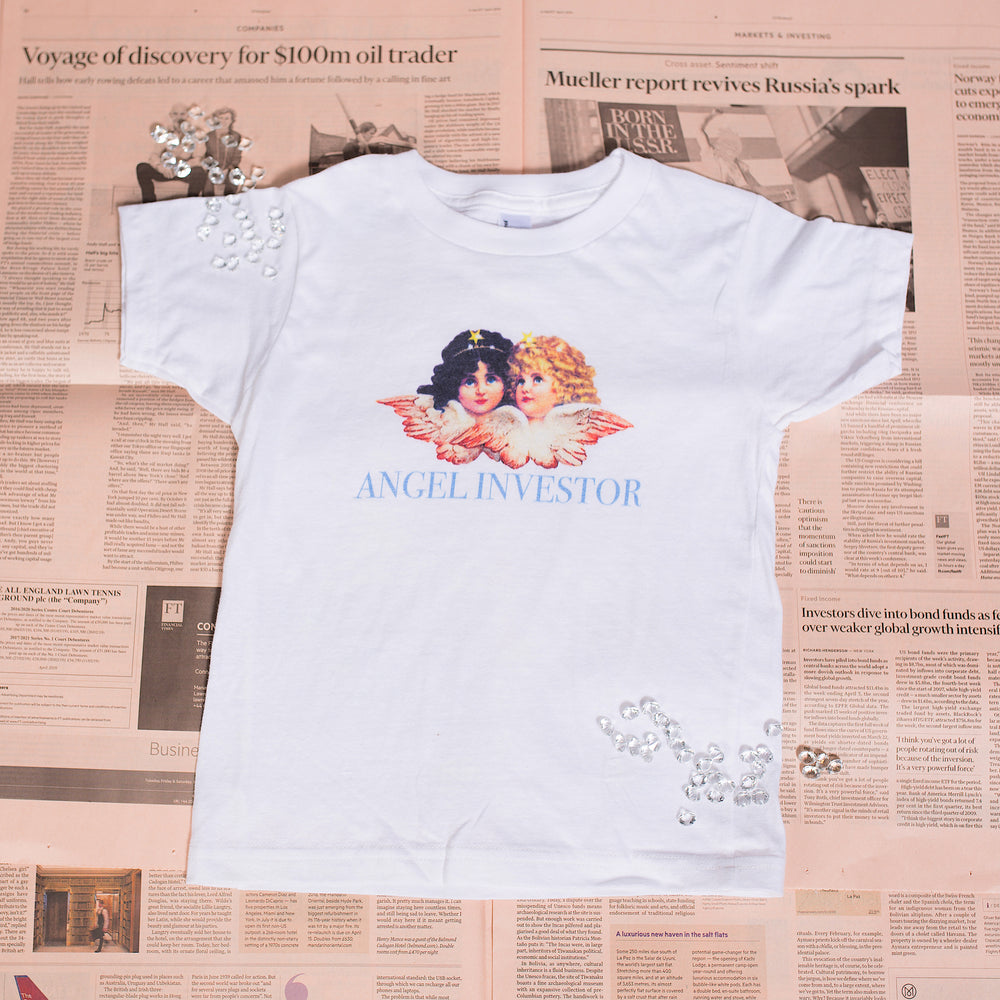 Angel Investor Kids Shirt - Finance Is Cool