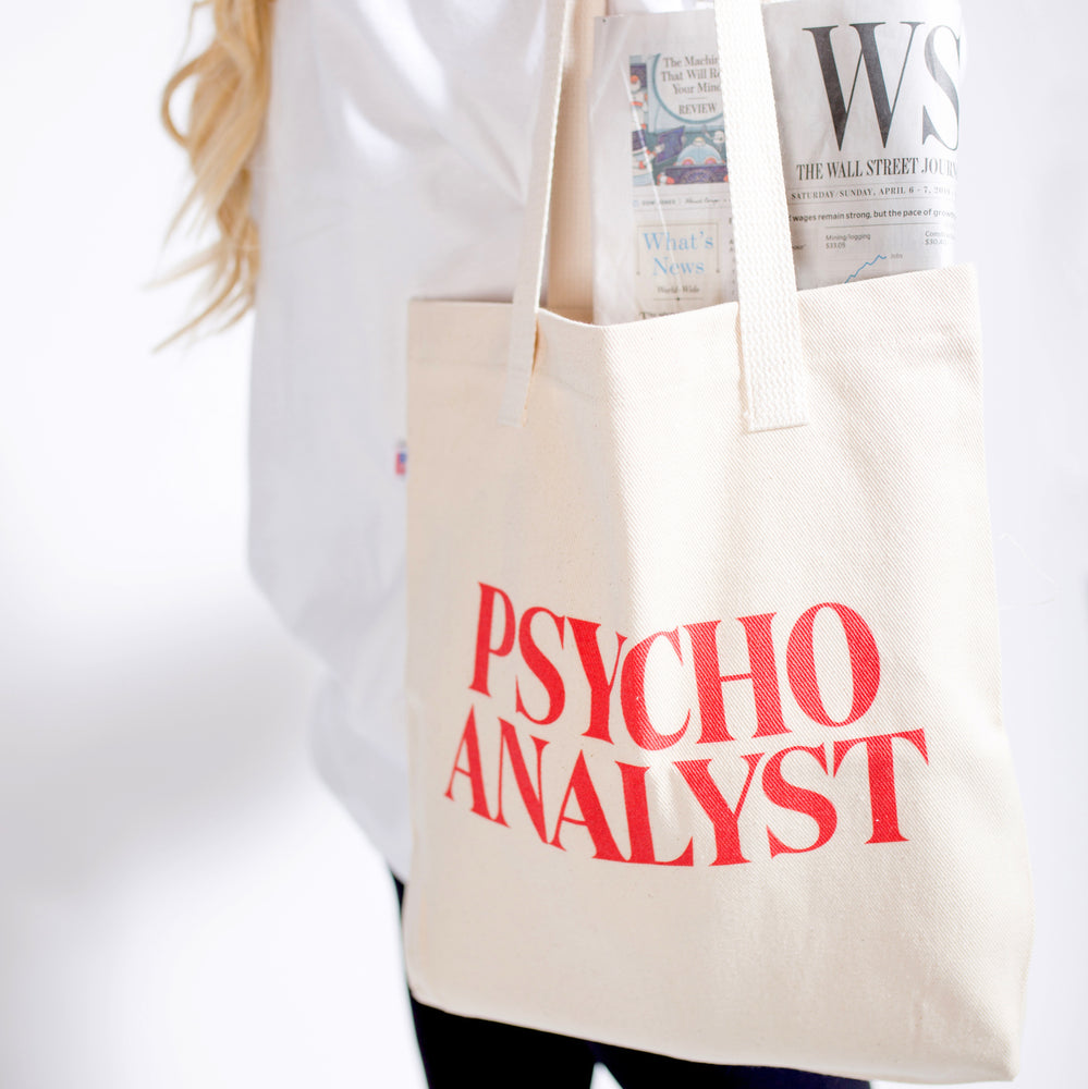 Psycho Analyst Tote Bag