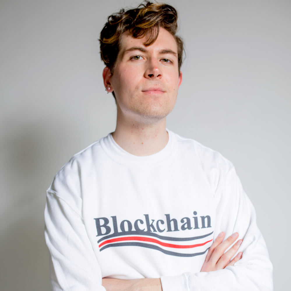 BLOCKCHAIN BALENCIAGA PULLOVER - Finance Is Cool
