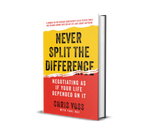 Never Split The Difference Hardcover - Finance Is Cool