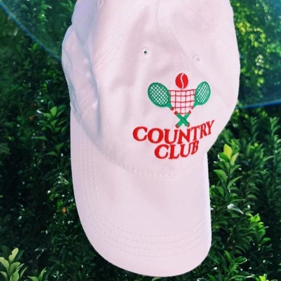 30% Off - Country Club Crest Hat - Finance Is Cool