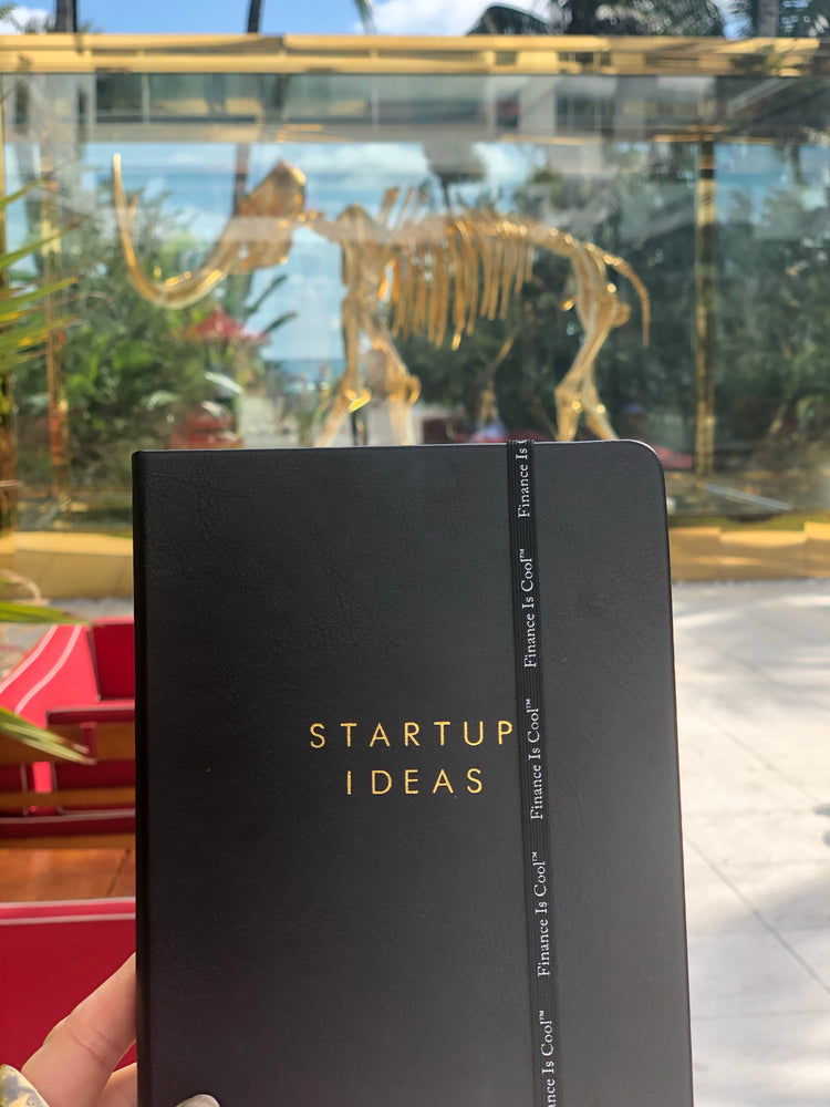 Startup Ideas Notebook - Finance Is Cool
