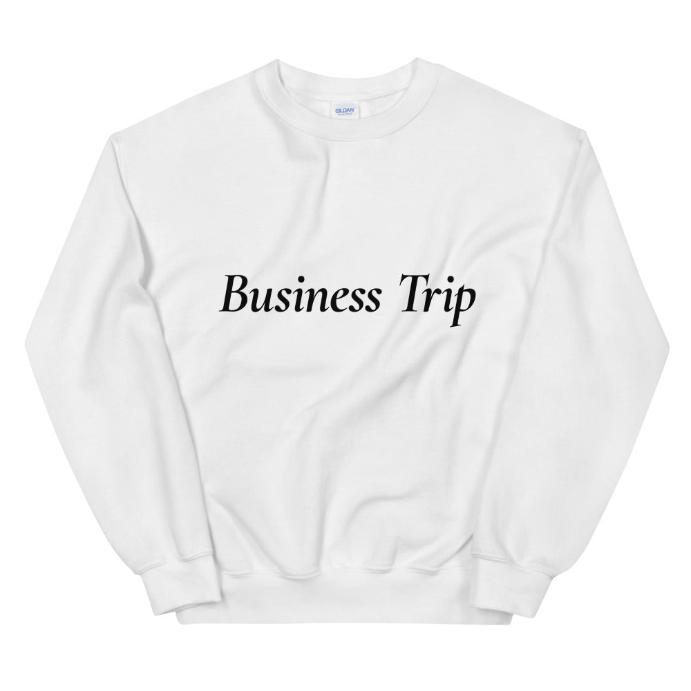 Business Trip Pullover - Finance Is Cool