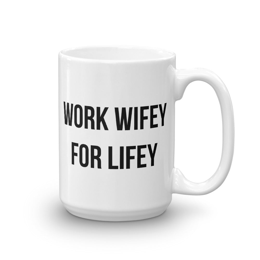 Work Wifey For Lifey Mug - Finance Is Cool