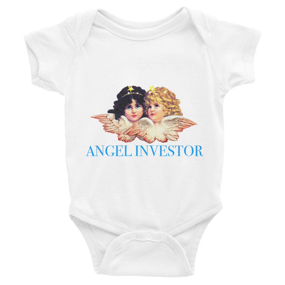 Angel Investor Baby Onesie - Finance Is Cool