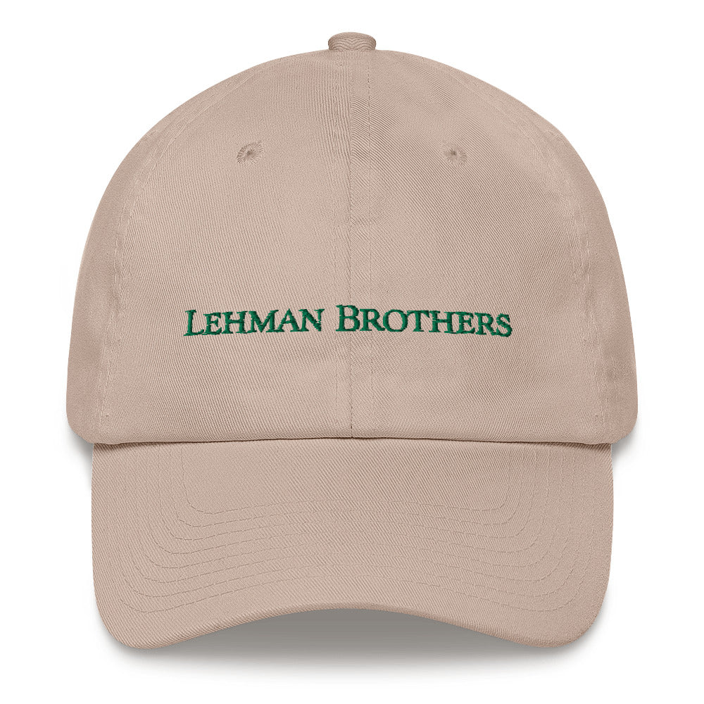 Lehman Brothers 10th Anniversary Hat - Finance Is Cool