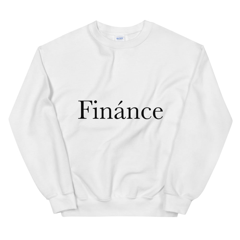 Finànce Pullover - Finance Is Cool