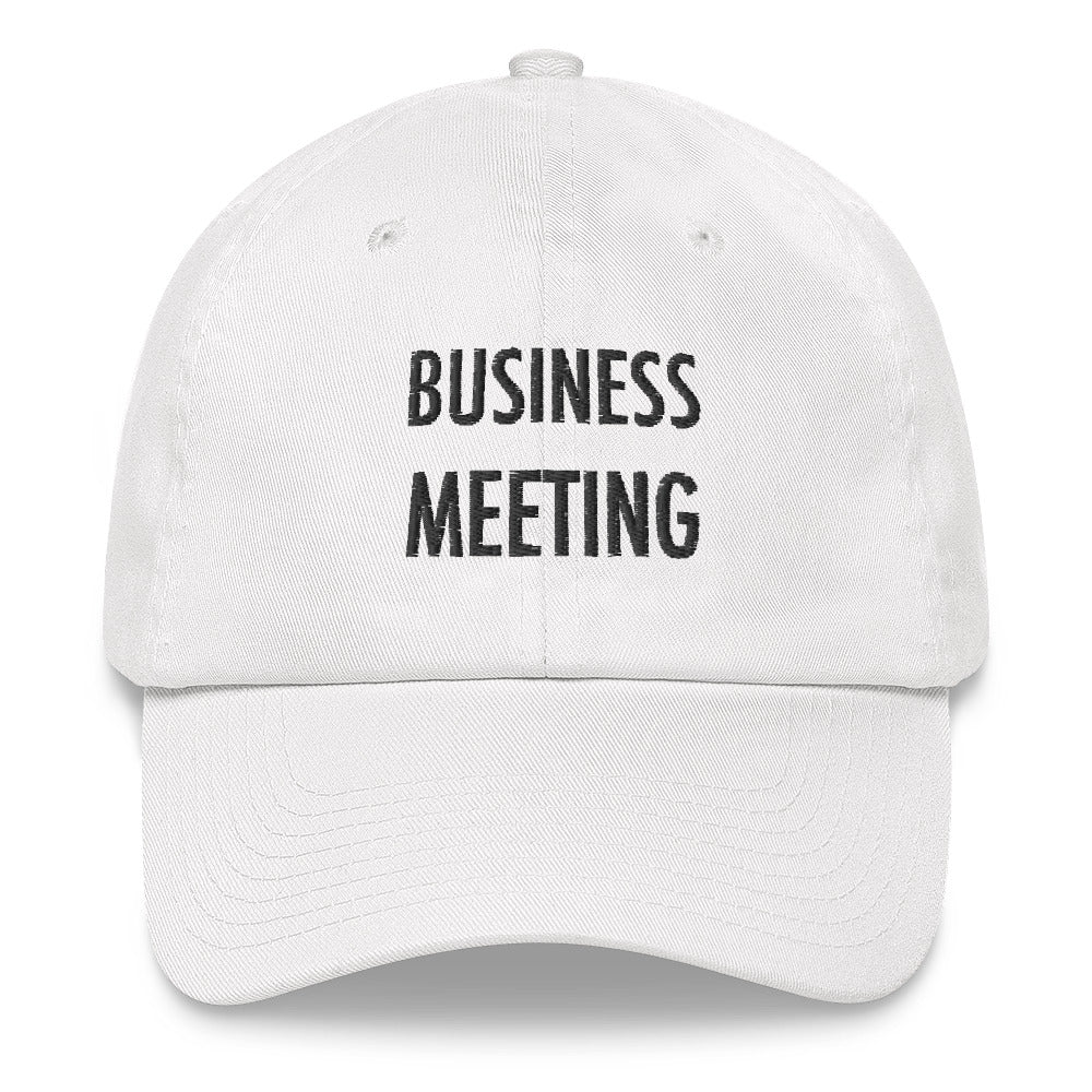 BUSINESS MEETING HAT