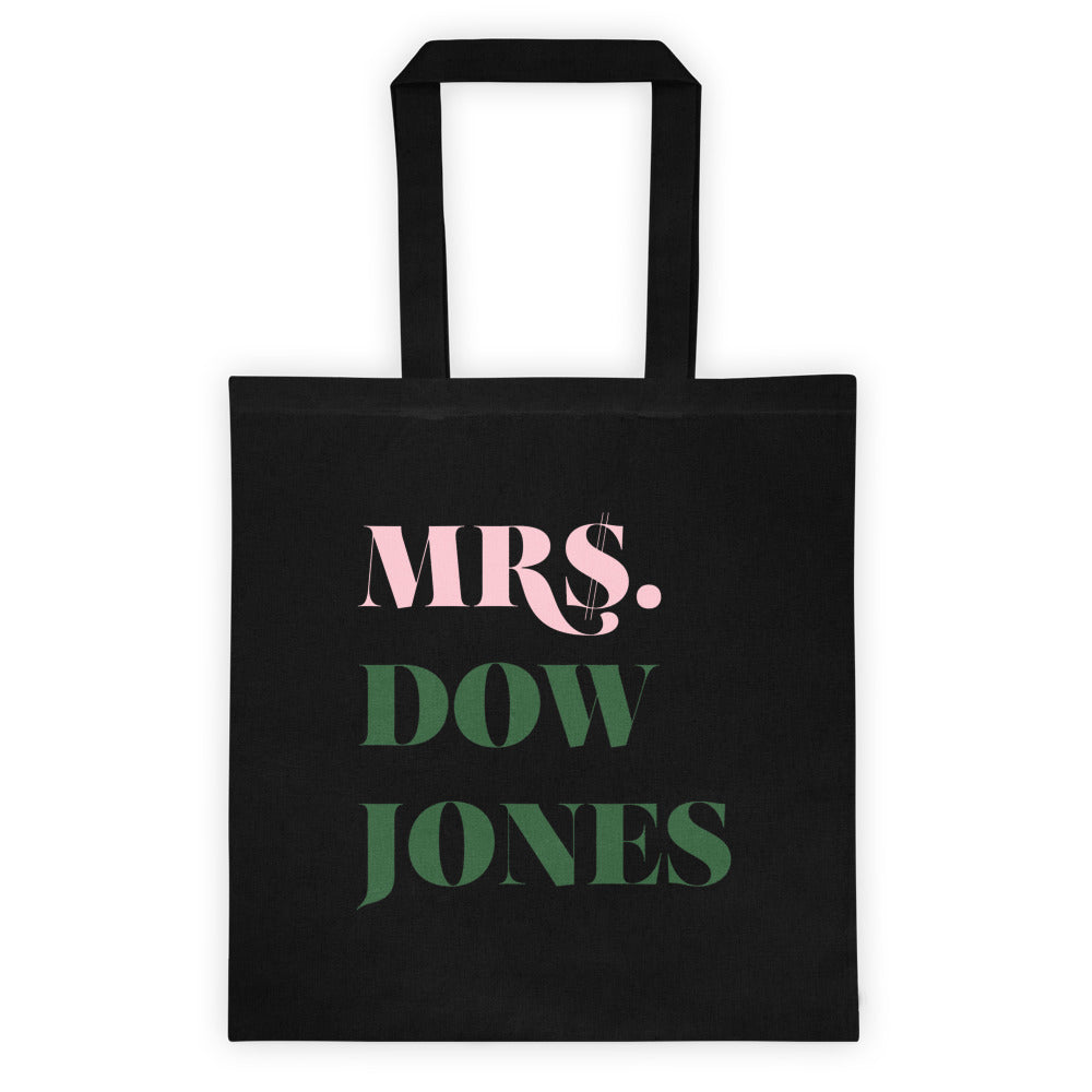 Mrs. Dow Jones Tote