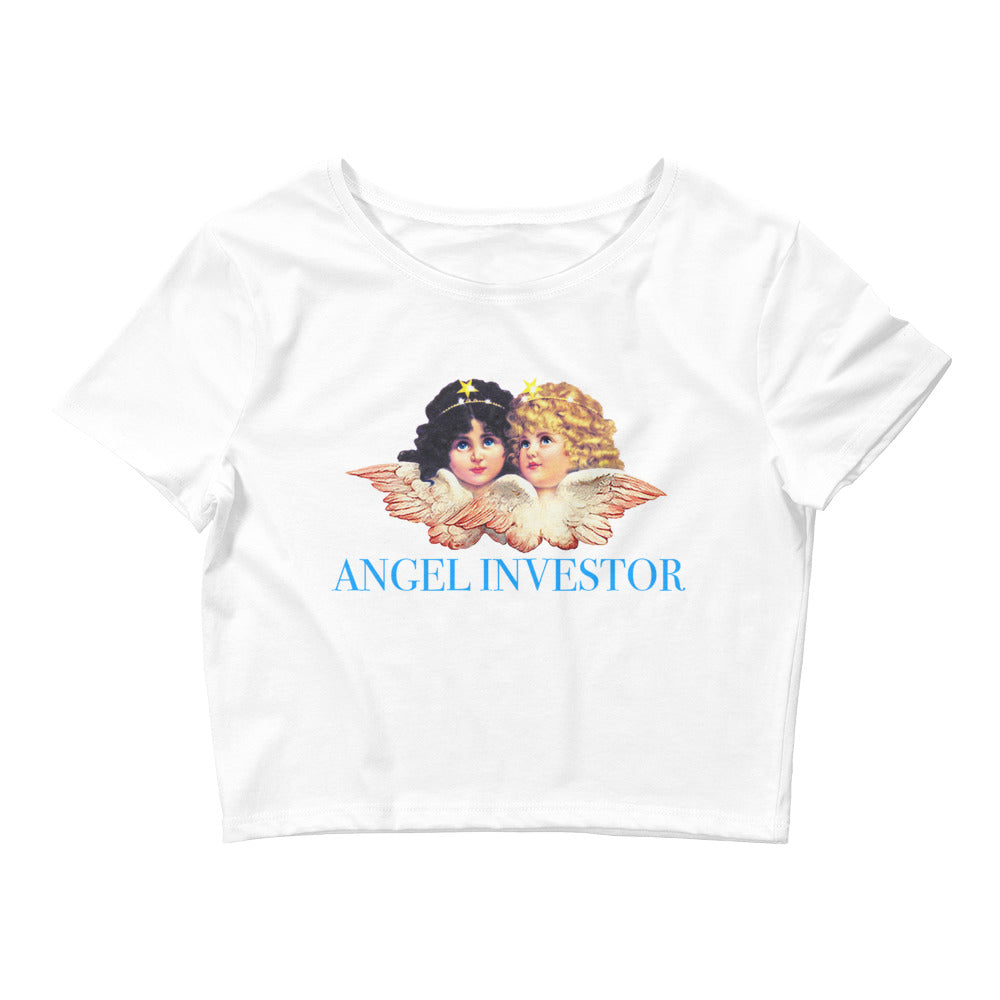 Angel Investor Crop Top
