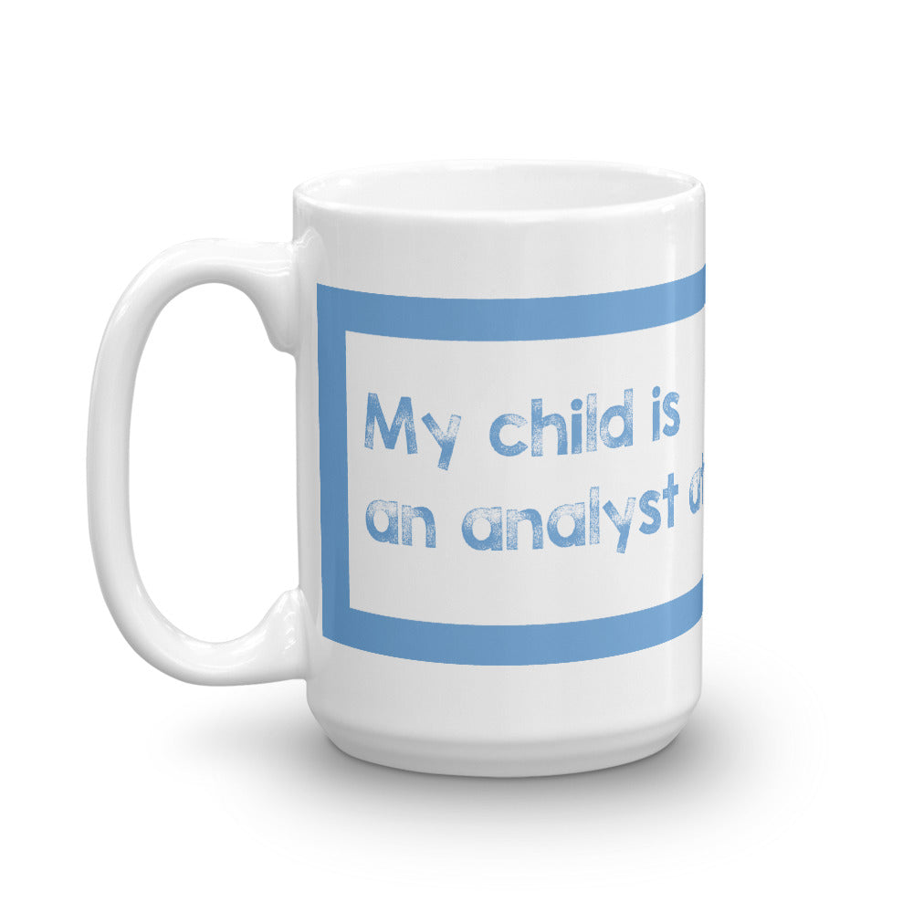 Goldman Analyst Mug - Finance Is Cool