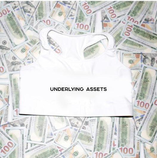 UNDERLYING ASSETS SPORTS BRA - Finance Is Cool