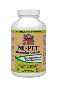 Ark Naturals Nu-pet Granular Greens Supplements For Dogs and Cats