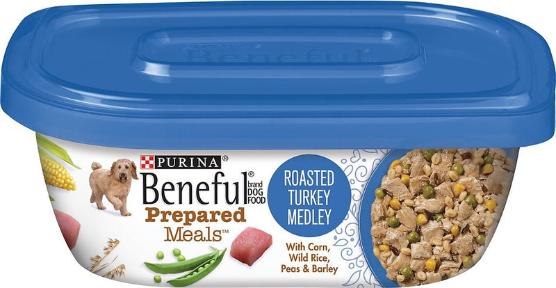 Beneful Prepared Meals Roasted Turkey Medley Wet Dog Food