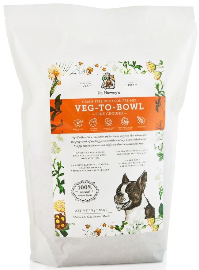 Dr. Harvey's Veg To Bowl Fine Ground Dog Food