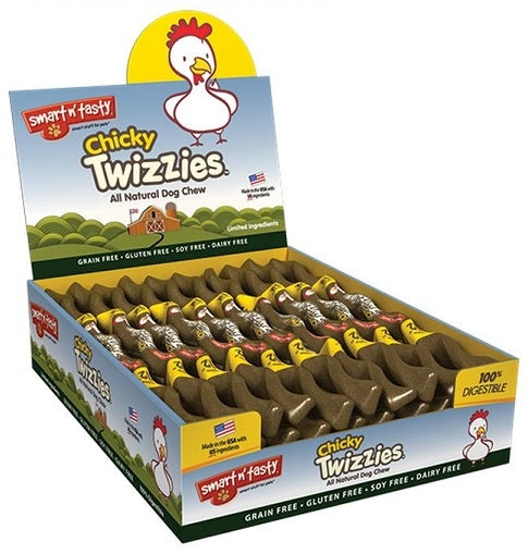 Smart n Tasty Chicky Twizzies Natural Dog Chew
