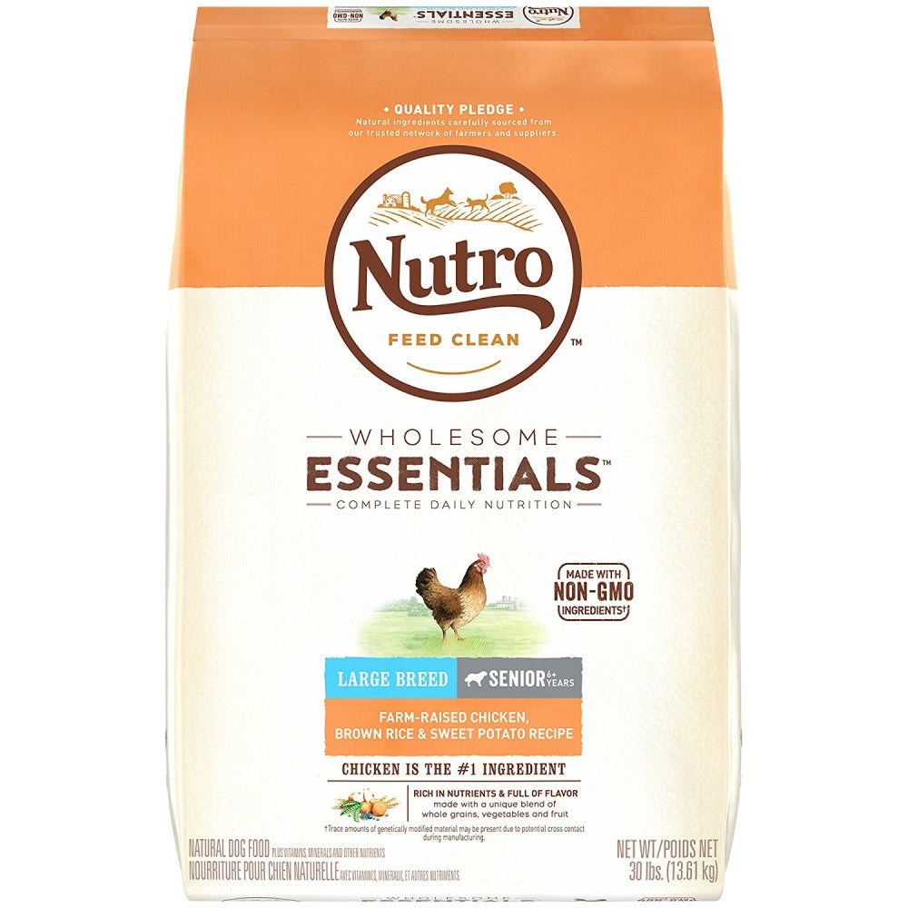 Nutro wholesome essentials large breed senior farm raised chicken nutro wholesome essentials large breed senior farm raised chicken brown rice sweet potato dry dog food forumfinder Choice Image