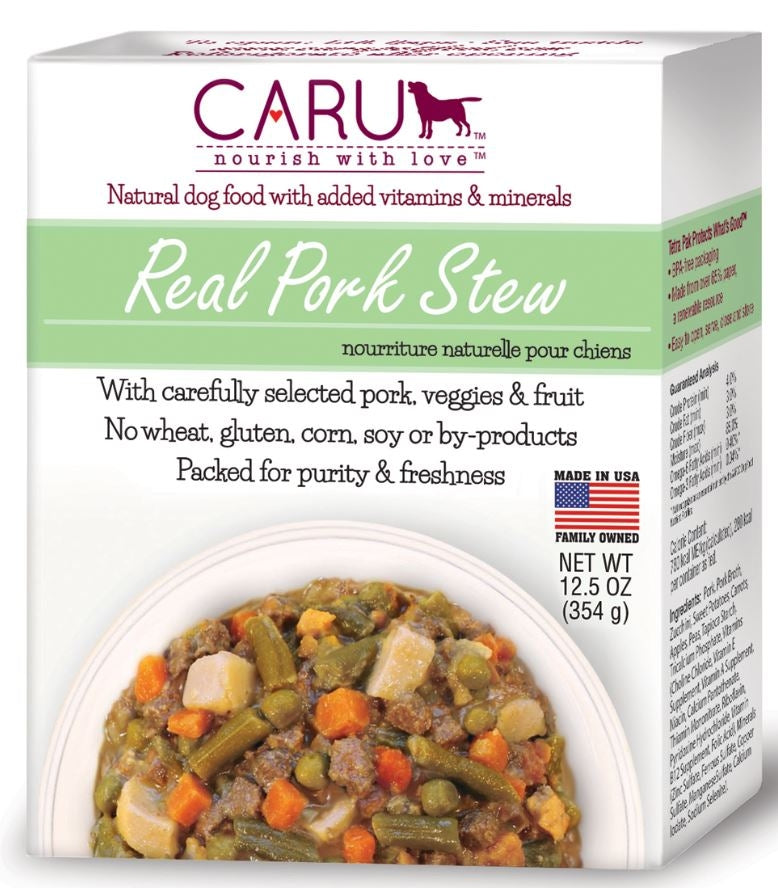 Caru Grain Free Real Pork Stew Canned Dog Food