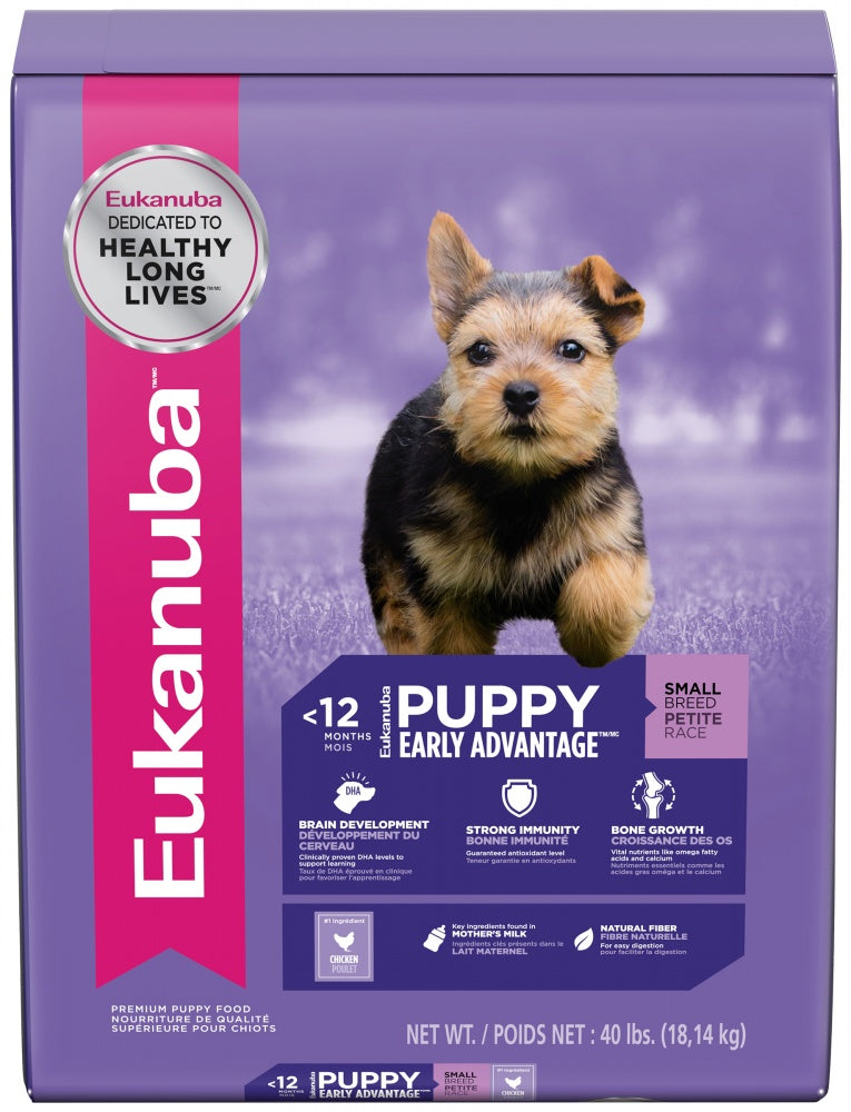 Eukanuba Small Breed Puppy Chicken Formula Dry Dog Food