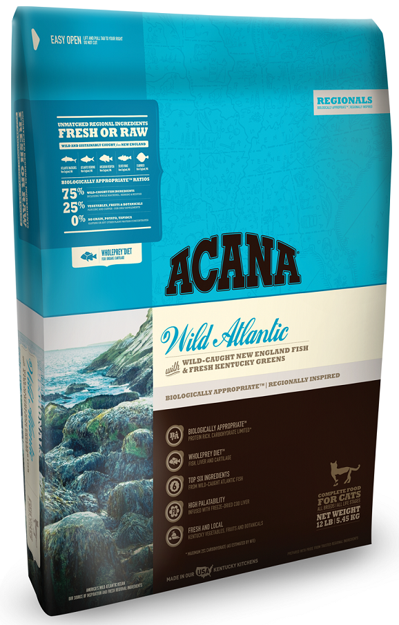 ACANA Regionals Wild Atlantic Formula Cat and Kitten Dry Cat Food