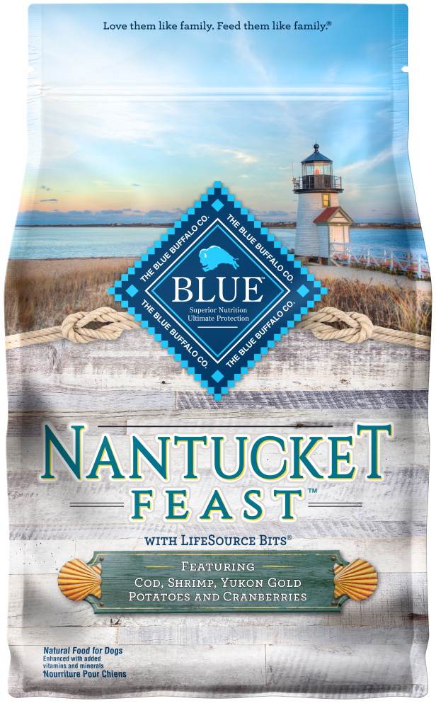 Blue Buffalo Regionals Nantucket Feast with Cod, Shrimp, Yukon Gold Potatoes, and Cranberries Dry Dog Food