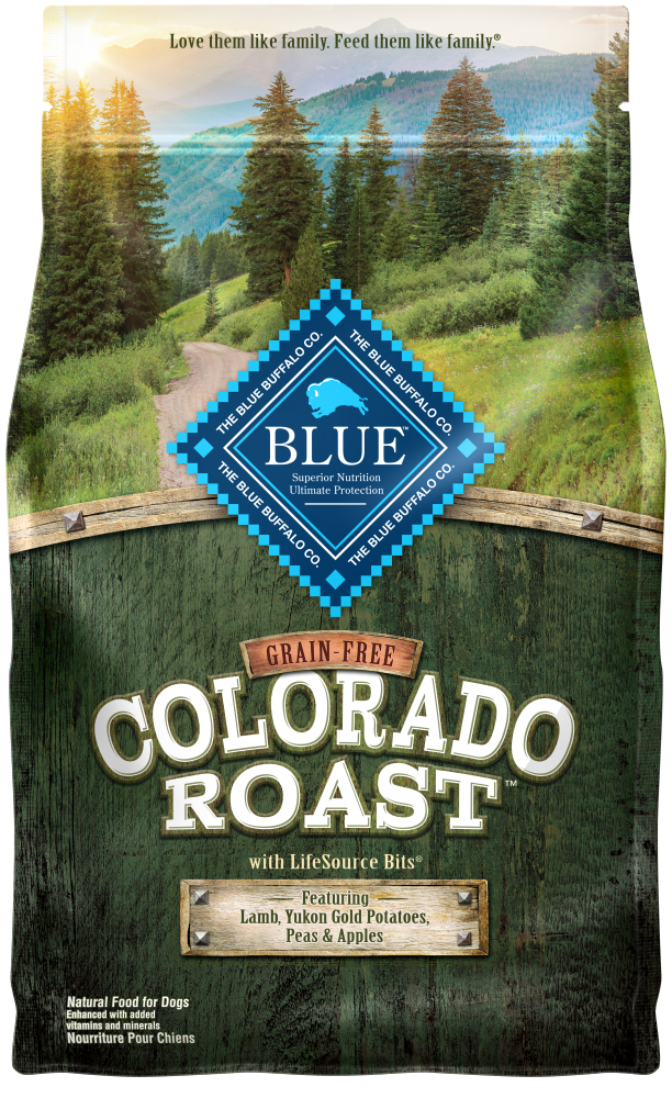 Blue Buffalo Regionals Grain Free Colorado Roast with Lamb, Yukon Gold Potatoes, Peas and Apples Dry Dog Food