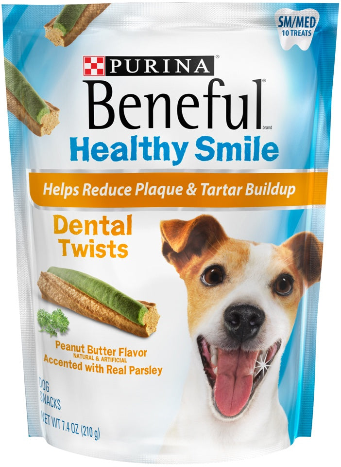 Beneful Healthy Smile Small/Medium Dental Twist Dog Treats
