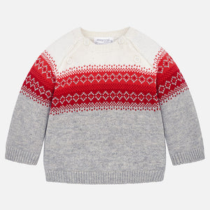 Jacquard Sweater 2304