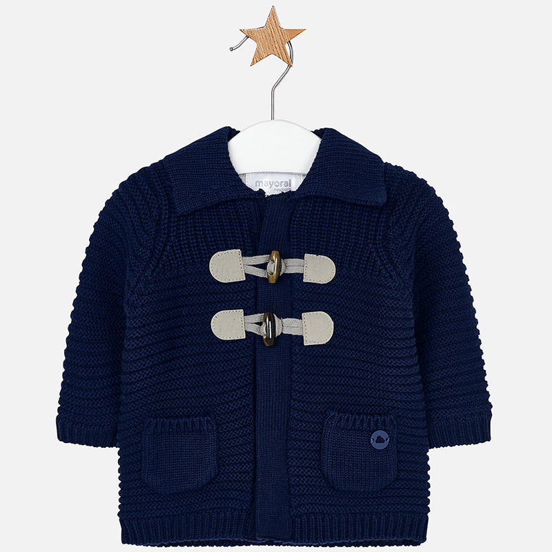 Knitted Jacket 2314 Navy