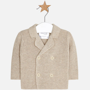 Knit jacket 2432 Beige