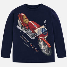 Long sleeve high speed print T-shirt 4010
