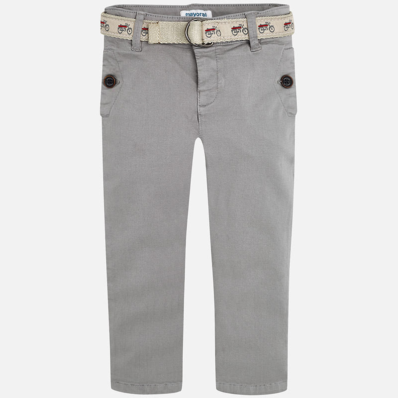 Chino with Belt 4508