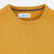 Basic Knit Sweater 323 Caramel