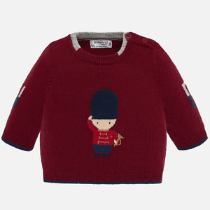 Soldier Baby Sweater 2305